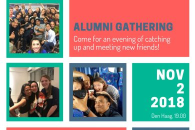 FSF Save the Date - 2 November 2018 - Alumni Gathering Den Haag